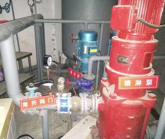 消防泵维修